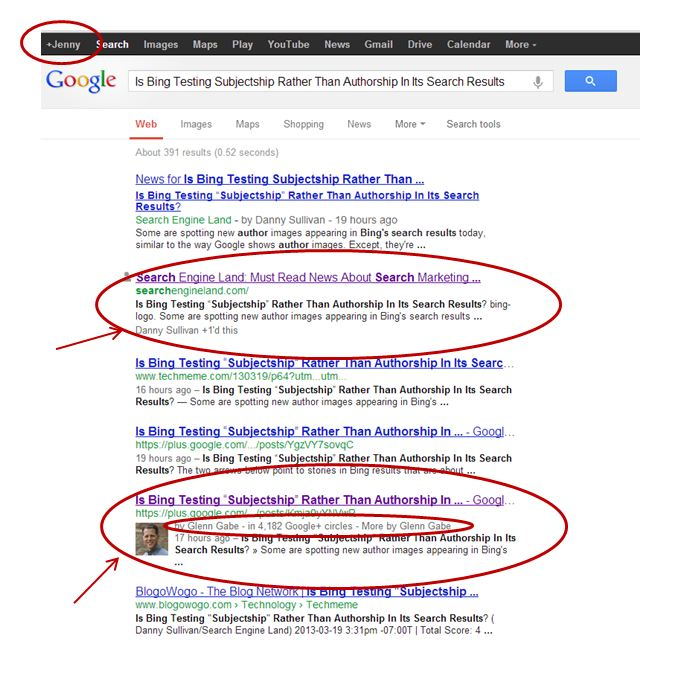 Authorship Tag Examples?