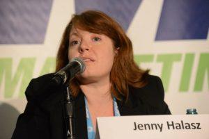 Jenny Halasz speaking